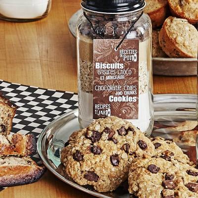 Biscuits brisures et morceaux de chocolat